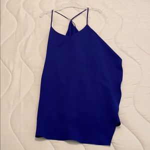 Electric Blue Free People slip size S